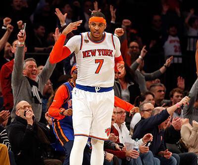 Carmelo Anthony NBA tarihine geçti
