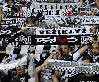 Beşiktaş taraftarından daha güçlü tezahürat için telsiz hamlesi
