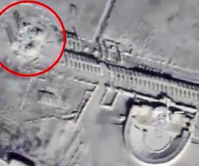 İşte antik kent Palmira'nın son hali