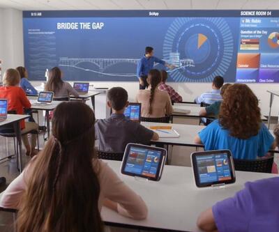 Geleceğin okulları böyle olacak