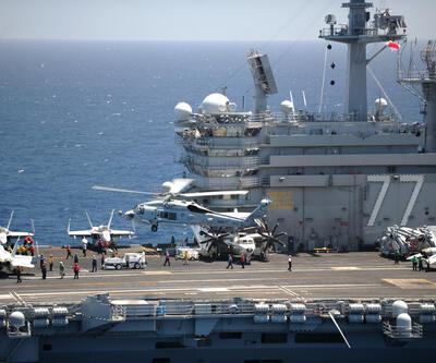 ABD uçak gemisi DEAŞ için Akdeniz'de