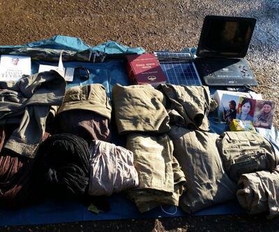 PKK'lıların konferans için kullandığı sığınak bulundu
