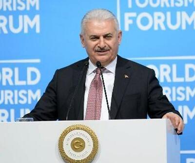 Başbakan Yıldırım'dan yabancılara turizm mesajı