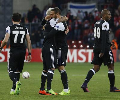 Hapoel Beer-Sheva 1-3 Beşiktaş / Maç Özeti