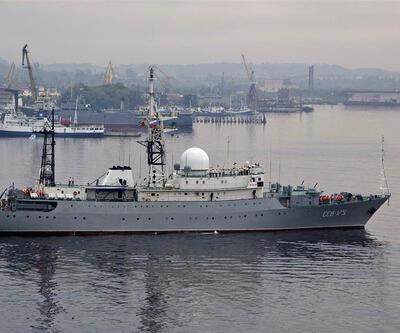 Rus askeri istihbarat gemisi ABD açıklarına demirledi