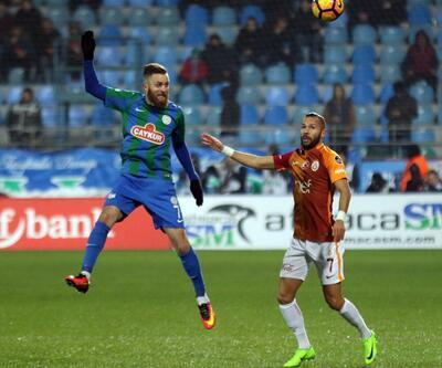 Çaykur Rizespor 1-1 Galatasaray Maç Özeti