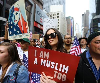 Trump'a tepki bitmiyor: Bugün ben de Müslümanım!