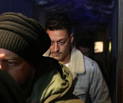 Mesut Özil İstanbul gecelerinde