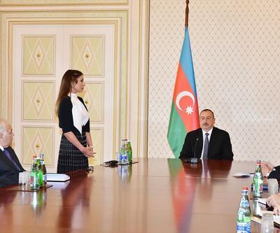 Mehriban Aliyeva'nın Cumhurbaşkanı yardımcılığına atandığı an