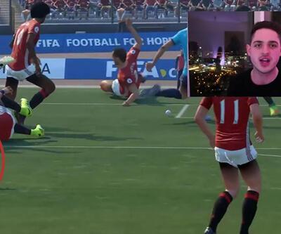 FIFA 17'yi hack'leyip futbolcuları dev yaptı