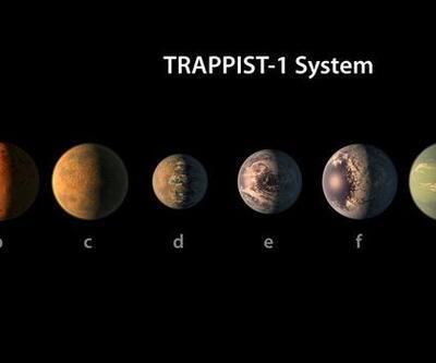 NASA üçü yaşanabilir yedi gezegen bulunca Twitter şahlandı