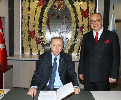Erdoğan'dan MHP'li belediye başkanına ziyaret