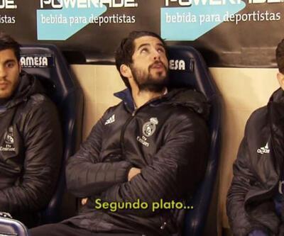 Real Madrid yedek kulübesinde Cem Yılmaz esprileri