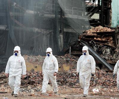 Ankara'da asbestli binanın yıkımı durduruldu