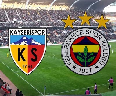 Kayserispor-Fenerbahçe maçı canlı izle   ATV canlı yayın