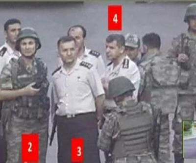 Darbeci askerlere bu fotoğraflar soruldu