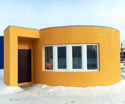 3D yazıcıda 24 saatte yapılan ev