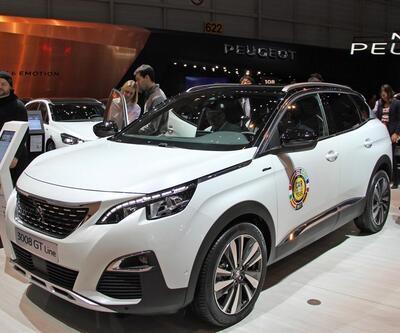 Cenevre Otomobil Fuarı'nda 'Yılın Otomobili' Peugeot 3008