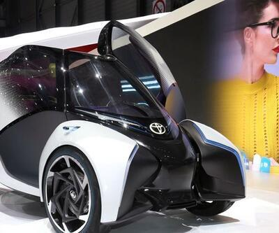 Toyota'nın fütüristik tasarımı i-TRIL