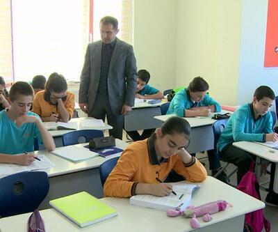 İlkokul öğrencilerine okuduğunu anlama sınavı yapıldı