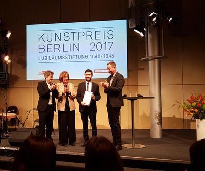 Berlin Güzel Sanatlar Akademisi'nin Büyük Sanat Ödülü Emin Alper'e verildi
