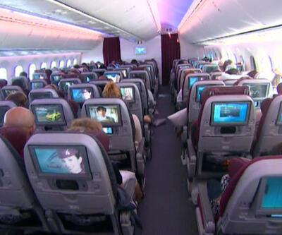 ABD yolcusuna uçakta tablet verilecek