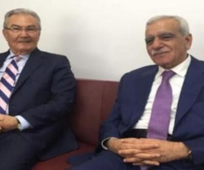 Deniz Baykal ile Ahmet Türk buluştu
