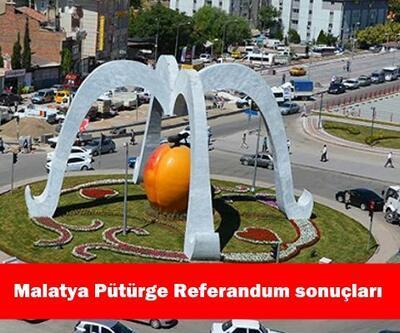 Malatya Pütürge ilçesi 2017 referandum seçim sonuçları