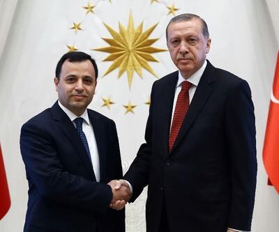 Cumhurbaşkanı Erdoğan AYM Başkanı'nı kabul etti