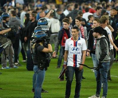 Son dakika: Lyon taraftarı Vodafone Arena'da yok