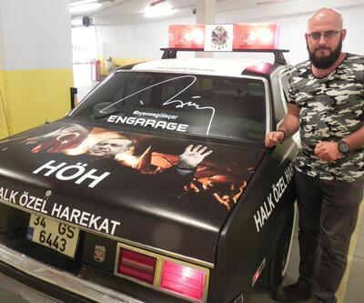 'Halk Özel Harekat' otomobilini Harran'a hediye etti