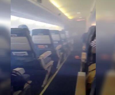 Pilotun şok anonsu paniğe neden oldu