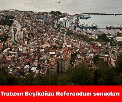 Trabzon Beşikdüzü 2017 referandum seçim sonuçları