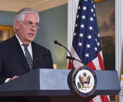 ABD Dışişleri Bakanı Tillerson: Hiçbir yere gitmiyorum