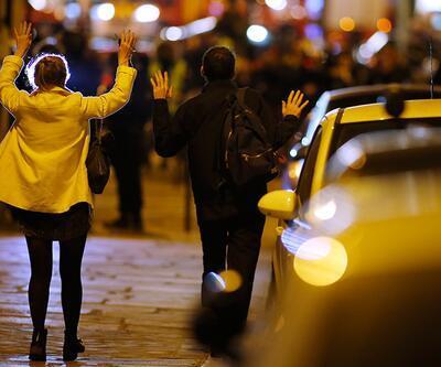 Paris'te çatışma anı