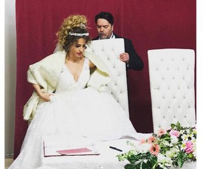 Beyaz ve Büşra Pekin'in düğününden en özel görüntüler