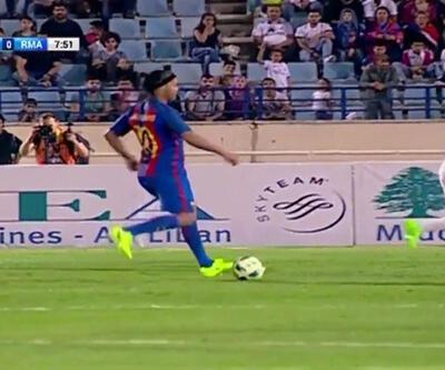 Ronaldinho'dan inanılmaz asist