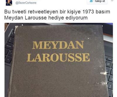 Twitter'da Meydan Larousse çılgınlığı