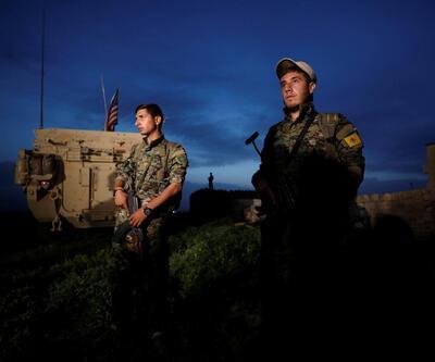 Sınırda YPG'liler ve ABD askeri yanyana!