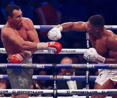 Joshua, Klitschko'yu nakavt etti
