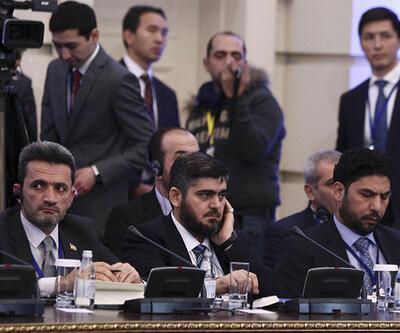Son dakika: Suriyeli muhaliflerden sert açıklama