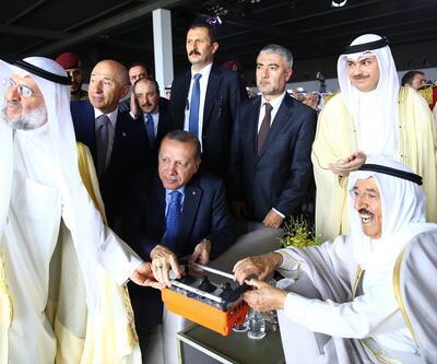 Erdoğan, Kuveyt'in yeni havalimanının temelini attı