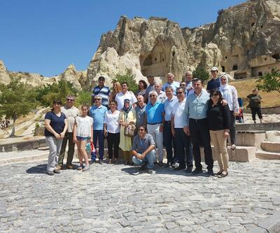 Kapadokya'da nisan ayında turist sayısında artış görüldü