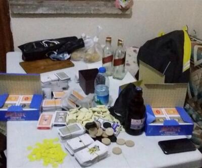 Nevşehir'de kumarbazlara polis operasyonu