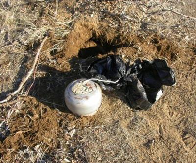 Tunceli'de 10 patlayıcı imha edildi