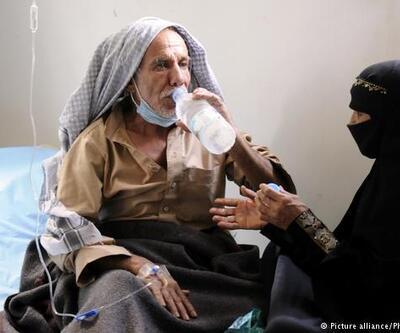 Yemen'de koleradan ölenlerin sayısı hızla artıyor
