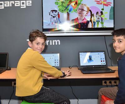Garage ile çocuklar Ar-Ge'yi keşfediyor