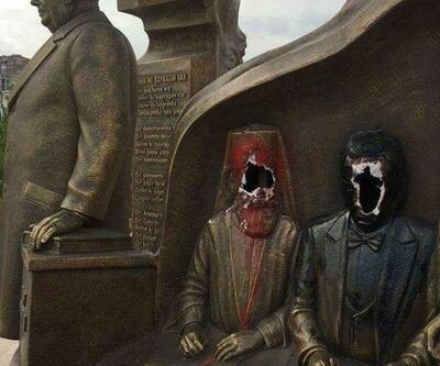 Ülkücüler yanlış heykeli kırdı