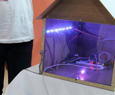 Ortaokul öğrencileri akıllı ev sistemi yaptı