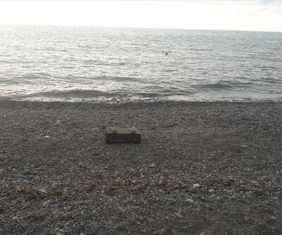 Zonguldak'ta bombalar kıyıya vurdu